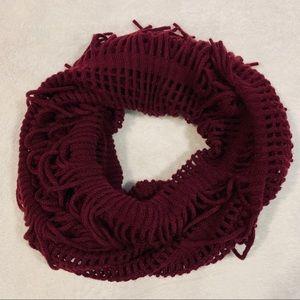 nordstrom bp fringe trim infinity scarf